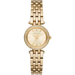 【送料無料】腕時計 ウォッチミハエルレディースゴールドプチ michael kors mk3295 ladies gold petite darci watch 2 year warranty