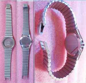 【送料無料】腕時計 ウォッチカサスチールケースバックルストラップビンテージ