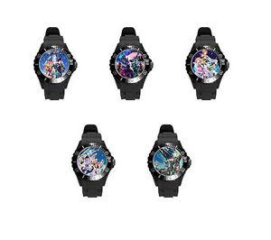 【送料無料】腕時計 ウォッチデルタブラックホワイトピンクソフトプラスチックゴム