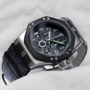 【送料無料】腕時計 ウォッチクロノグラフベルリンフォージssoktagon chronograph at3062ss aus der uhrenschmiede astboerg berlin neu amp; ovp