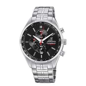 【送料無料】腕時計 ウォッチスポーツorologio festina sport uomo cronografo nero f68634