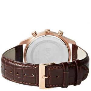 Hokushinco Watch Watch Hugo Boss Men Ambassador Gold Chronograph