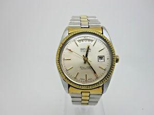 【送料無料】腕時計 ウォッチフルレバースイスワイドmontre date sicura fulllever automatic swiss breitling working wristwatch