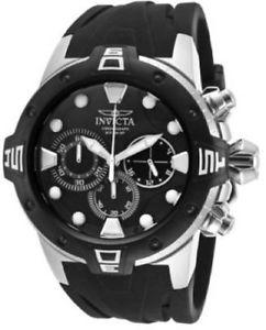 【送料無料】腕時計 ウォッチメンズクロノグラフミリブラックラバーストラップウォッチ