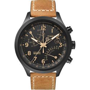 【送料無料】腕時計 ウォッチメンズブラックタンクロノグラフウォッチベストセラー
