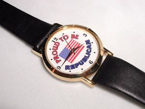 【送料無料】腕時計 ウォッチクリスマスwatch proud to be a republican christmas gift president