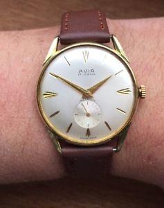 【送料無料】腕時計 ウォッチヴィンテージピカピカウォッチvintage 1960s gents avia watch immaculate