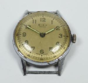 【送料無料】腕時計 ウォッチスイスビンテージswiss made vintage gentlemens gisa 1960s watch working 37mm