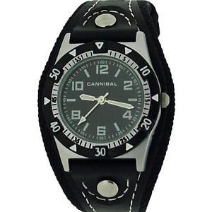 【送料無料】腕時計 ウォッチカニバリアクティブブラックストラップスポーツウォッチ