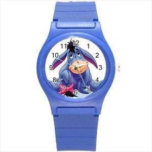 【送料無料】腕時計 ウォッチプークリスマスプラスチックスポーツウォッチウィニーwinnie the poohs eeyore christmas plastic sports watch, childs gift