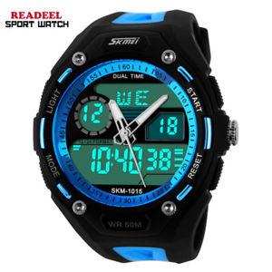 【送料無料】腕時計 ウォッチスポーツデジタルアナログオビドスアルmen sports watches men electronic quartz wristwatch relogio digital analog al
