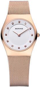【送料無料】腕時計 ウォッチベーリングクラシックレディースローズゴールドメッシュウォッチウィメンズbering time classic ladies rose gold mesh watch 11927366 womens