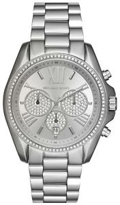 【送料無料】腕時計 ウォッチミハエルドルmichael kors womens 43mm bradshaw pav silver tone watch mk6537 32500