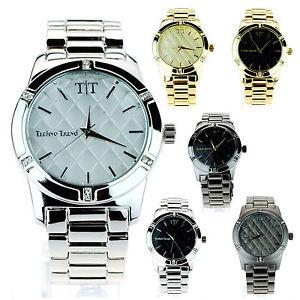 【送料無料】腕時計 ウォッチメンズデザイナーアナログラウンドウォッチシンプルmens simple bling luxury designer dress analog round wrist watch