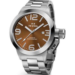 【送料無料】腕時計 ウォッチスチールメンズブラウンウォッチtw steel cb22 mens brown 50mm canteen watch 2 years warranty