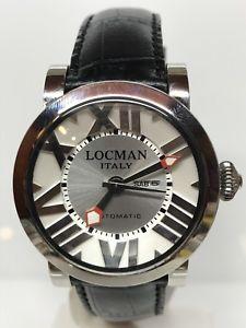 【送料無料】腕時計 ウォッチトスカーノシルバーシモヌオーヴォorologio locman toscano silver automatico 38mm 680 scontatissimo nuovo