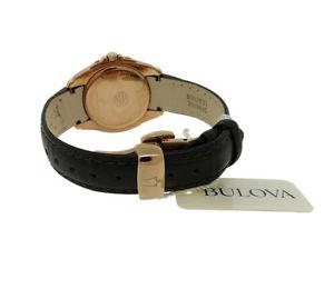 腕時計 ウォッチラウンドアナログローズゴールドトーンウォッチbulova precisionist 97m104 womens round analog date rose gold tone watch