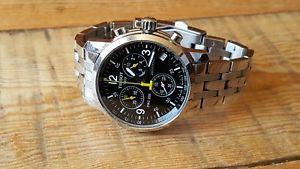 【送料無料】腕時計 ウォッチゲントステンレススチールクロノグラフクオーツティソgents stainless steel quartz tissot chronograph prc 200 wrist watch
