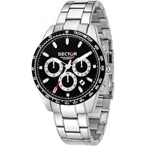 【送料無料】腕時計 ウォッチセクターグラフィックorologio uomo ragazzo sector 245 r3273786004 cronografo 41 mm nero 169,00