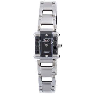 【送料無料】腕時計 ウォッチクロノテックmステンレススチールchronotech womens cc7040ls02m crystals stainless steel wristwatch