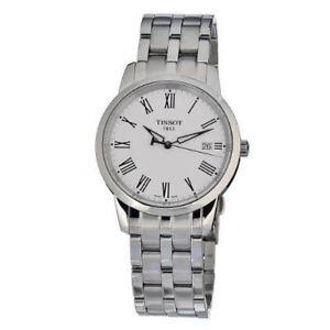 【送料無料】腕時計 ウォッチティソメンズクラシックステンレススチールケースブレスレットウォッチtissot mens t0334101101301 classic dream stainless steel case and bracelet watch