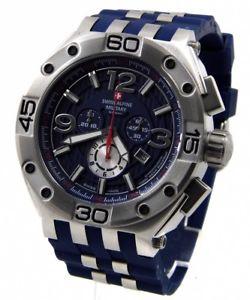【送料無料】腕時計 ウォッチスイスアルプスメンズクロノグラフswiss alpine military 70329835 xxl 50mm herren chronograph by grovana neu