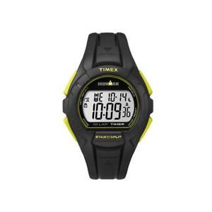 【送料無料】腕時計 ウォッチラップシリコーンクロノサブメートルorologio timex ironman 10lap tw5k93800 silicone nero giallo chrono sub 100mt