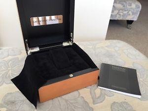 【送料無料】腕時計 ウォッチィチーネパネライボックスミントicine panerai oem pear wood box mint condition