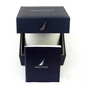 腕時計 ウォッチメンズクロノグラフタキメーターウォッチmens nautica chronograph tachymeter watch nad24504g