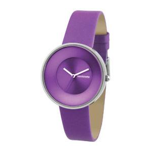 【送料無料】腕時計 ウォッチパープルレディースストラップスリムラインウォッチボックスオンlambretta cielo purple ladies leather strap slim line watch slightly damaged box