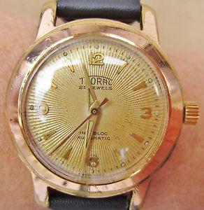 【送料無料】腕時計 ウォッチアールデコ1950s rgf art deco thoral automatic watch felsa 1560 movt serviced warranty