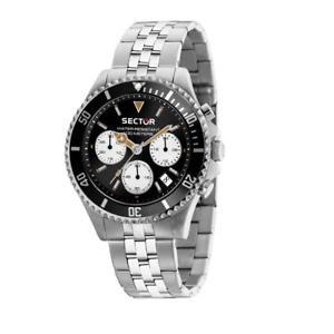 【送料無料】腕時計 ウォッチグラフィカルセクターorologio cronografo uomo sector 230 r3273661010 acciaio crono nuova collezione
