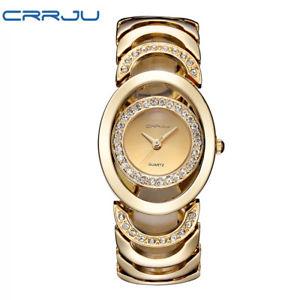 【送料無料】腕時計 ウォッチブランドファッションデザインゴールドブレスレットウォッチ2016 luxury women watch famous brands gold fashion design bracelet watche