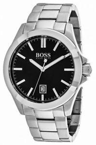 【送料無料】腕時計 ウォッチヒューゴボスアナログクォーツステンレススチールウォッチhugo boss mens essential analog quartz stainless steel watch 1513300