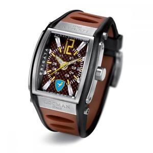 【送料無料】腕時計ウォッチシリコーンorologiouomolocmantremilabrigatafolgore026500kn0ei5bknsiliconemarrone