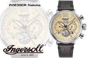 【送料無料】腕時計 ウォッチingersoll in1230cr nakota automatik
