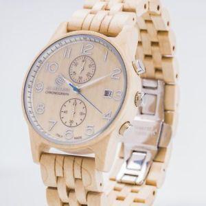 【送料無料】腕時計 ウォッチクロノエイサーab aeterno ianus chrono acer hlzerne uhr