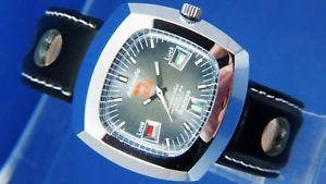 【送料無料】腕時計 ウォッチビンテージアストロマチックスイススターアクエリアスgents nos vintage astromatic aquarius star sign automatic watch 1970s swiss