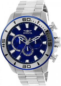 【送料無料】腕時計 ウォッチメンズプロダイバークォーツクロノグラフステンレススチールinvicta mens pro diver quartz chronograph 100m stainless steel watch 22586