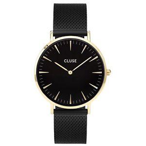 【送料無料】腕時計 ウォッチファムファラメッシュゴールドブラックブラックメーカ