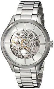 【送料無料】腕時計 ウォッチメンズケネスステンレススチールリンクブレスレットウォッチmens kenneth cole automatic stainless steel link bracelet 44mm watch kc15171002