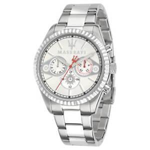 【送料無料】腕時計 ウォッチメンズスチールブレスレットコンペティツィオーネマセラティマセラティmaserati r8853100005 mens competizione steel bracelet watch