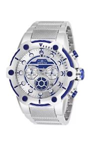 【送料無料】腕時計 ウォッチスターウォーズシルバーホワイトクロノグラフメンズウォッチ authentic invicta star wars r2d2 silver white chronograph mens 26220 watch