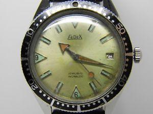 腕時計 ウォッチドフェデックスヴィンテージmontre de plonge  fedex mouvement mcanique vintage 1970