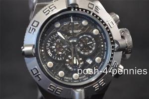 【送料無料】腕時計 ウォッチメンズスイスクオーツクロノグラフシルバーブラックウォッチ
