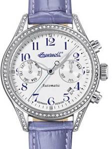 【送料無料】腕時計 ウォッチレディースingersoll in7401swh damen automatik 36mm 5atm