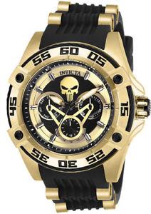 【送料無料】腕時計 ウォッチマーベルクロノステンレススチールシリコンウォッチinvicta womens marvel chrono gold plated stainless steel silicone watch 27034
