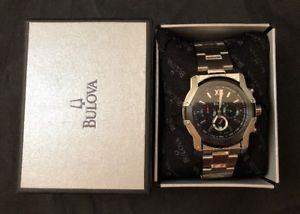 【送料無料】腕時計 ウォッチステンレススチールクロノグラフメンズカジュアルウォッチアナログ bulova 98b149 chronograph men's casual watch stainless steel analogdate