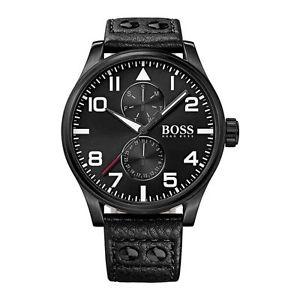 【送料無料】腕時計 ウォッチヒューゴボスブラックメンズウォッチ