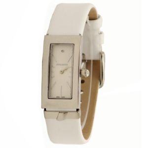 【送料無料】腕時計 ウォッチホワイトレザーファッションアナログウォッチnina ricci womens n054002 white leather fashion analog watch